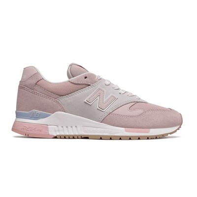 New Balance 840 BASKETS BASSES ROSE Chaussure France_v7765