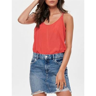 Only IRIS TOP ROSSO