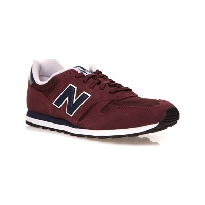 New Balance ML373 SNEAKERS AUS LEDER BORDEAUXROT