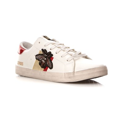Le Temps des Cerises CITY LOW SNEAKERS WEIß
