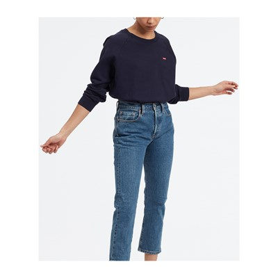 Levi's RELAXED GRAPHIC FELPA BLU
