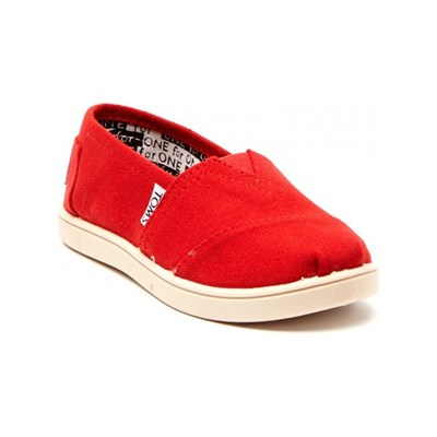 Toms CANVAS SLIP-ONS ROT