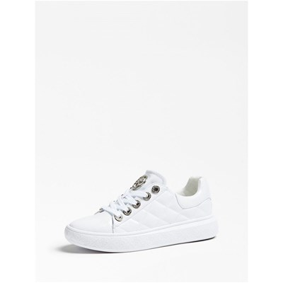 Guess BECKS BASKETS BASSES BLANC Chaussure France_v15121