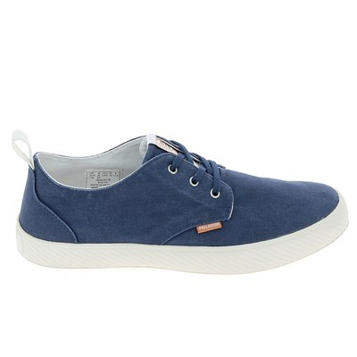 Palladium BASKETS BASSES BLEU
