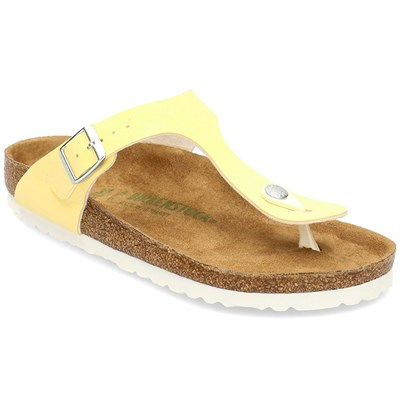 Birkenstock GIZEH TONGS JAUNE Chaussure France_v12349