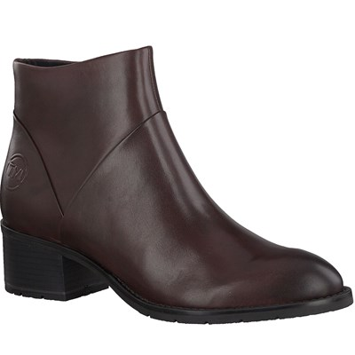 MARCO TOZZI BOTTINES BORDEAUX Chaussure France_v8292