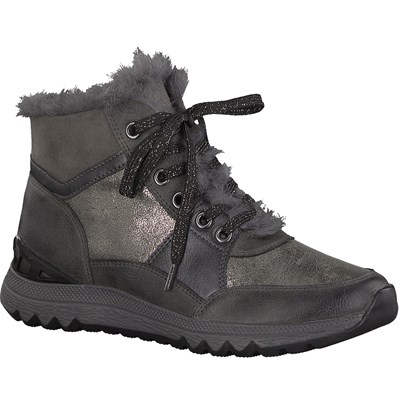 MARCO TOZZI LOW BOOTS GRIS Chaussure France_v5508