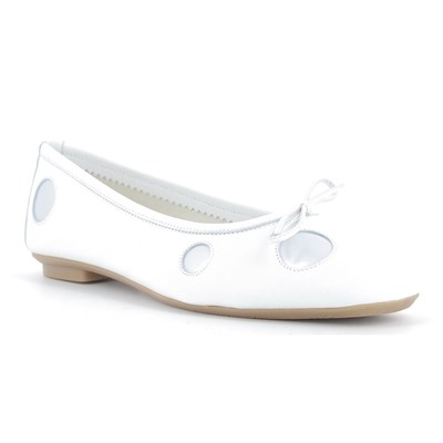 Reqins BALLERINES BLANC Chaussure France_v8836