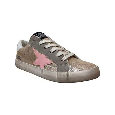 Le Temps des Cerises CITY LOW SNEAKERS GRAU