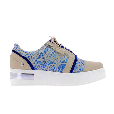 Elizabeth Stuart AFIDA 850 BASKETS BASSES BLEU Chaussure France_v9816