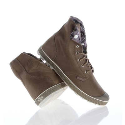 Palladium BASKETS MONTANTES MARRON