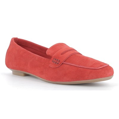 Reqins MOCASSINS ROUGE