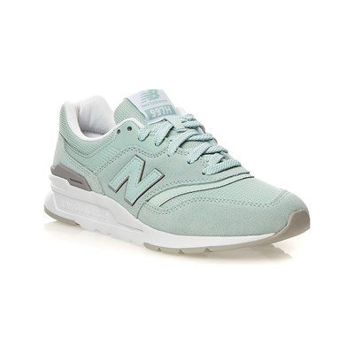 New Balance CW997 BASKETS BASSES VERT CLAIR Chaussure France_v6107