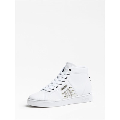 Guess BASKETS MONTANTES BLANC Chaussure France_v15687
