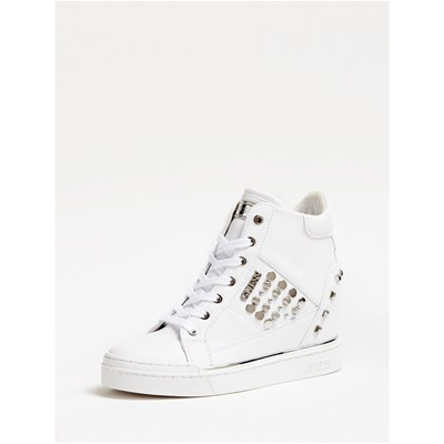 Guess BASKETS MONTANTES BLANC Chaussure France_v16136
