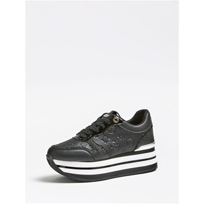 Guess BASKETS BASSES NOIR Chaussure France_v15939