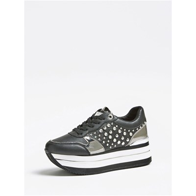 Guess BASKETS BASSES NOIR Chaussure France_v16418