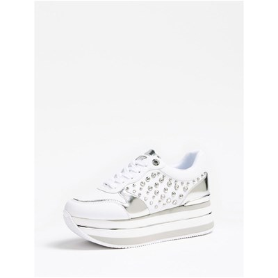 Chaussures Femme | Guess BASKETS BASSES BLANC
