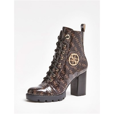 Guess RURAY BOTTINES MARRON