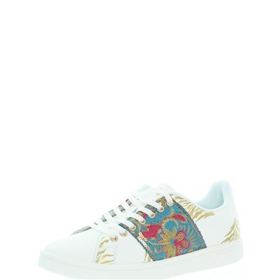 Desigual COSMIC EXOTIC BASKETS BASSES MULTICOLORE Chaussure France_v9034