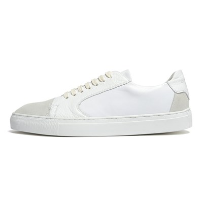 Chaussures Homme | Azzaro BASKETS BASSES BLANC