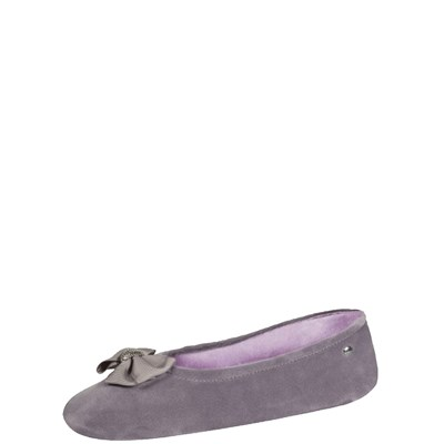 Isotoner REF_ISO44800 CHAUSSONS GRIS Chaussure France_v2535