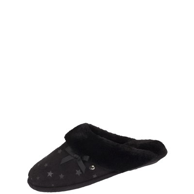 Isotoner REF_ISO44802 CHAUSSONS NOIR Chaussure France_v2538