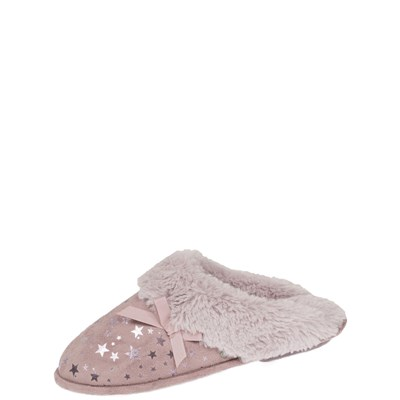 Chaussures Femme | Isotoner REF_ISO44802 CHAUSSONS ROSE