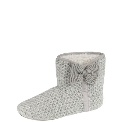Isotoner REF_ISO44803 CHAUSSONS GRIS