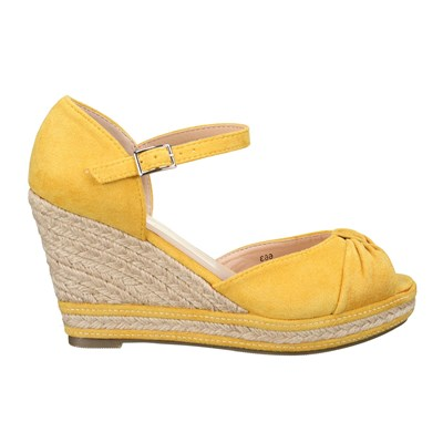 Lily Shoes 663 SANDALES JAUNE Chaussure France_v2705