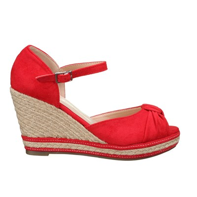 Lily Shoes 663 SANDALES ROUGE Chaussure France_v2707