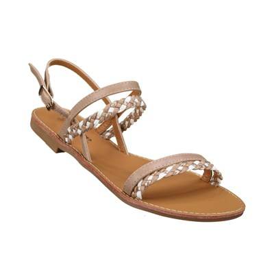Lily Shoes L963 TONGS MARRON