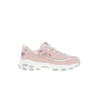 Skechers DLITES BRIGHT BLOSSOMS CHAUSSURES DE RUNNING ROSE Chaussure France_v15332