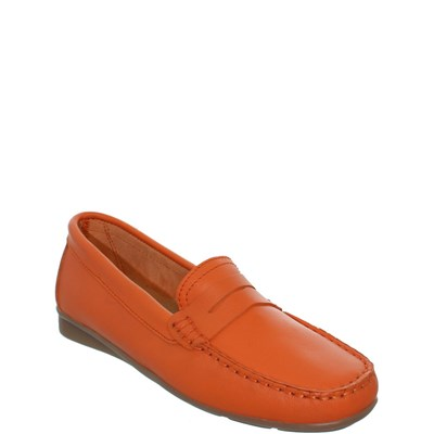 Johann JOHANN MOCASSINS ORANGE Chaussure France_v8313
