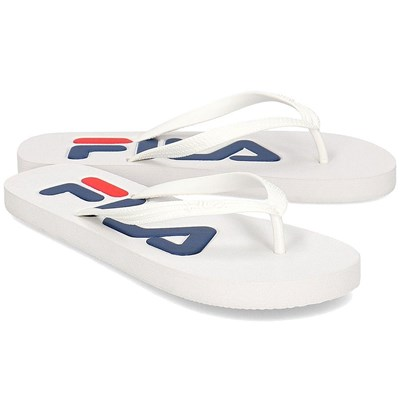 Fila TROY SLIPPER TONGS BLANC Chaussure France_v2436