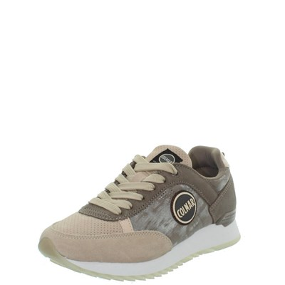 Colmar TRAVIS BASKETS BASSES BEIGE Chaussure France_v13386