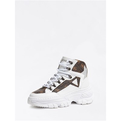 Guess BASKETS MONTANTES BLANC Chaussure France_v15119