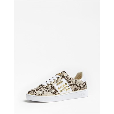 Guess BASKETS BASSES BEIGE Chaussure France_v15117