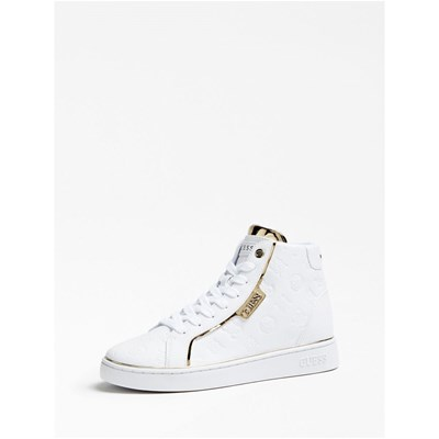 Chaussures Femme | Guess BASKETS MONTANTES BLANC
