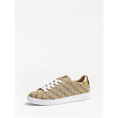 Guess CATER BASKETS BASSES BEIGE Chaussure France_v12511