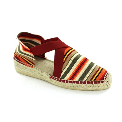 Tonis Pons ESPADRILLES ROUGE Chaussure France_v3730