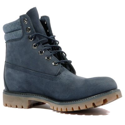 Timberland 6 IN DOUBLE BOOTS BLEU