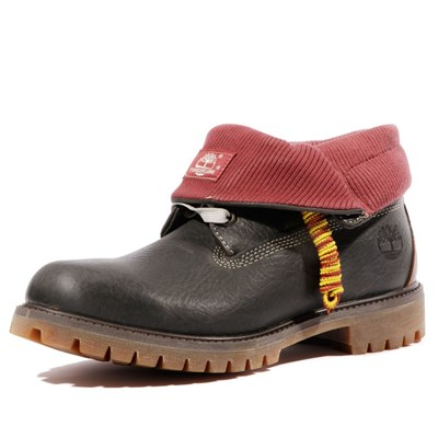 Chaussures Homme | Timberland ROLL TOP L/F BOOTS NOIR