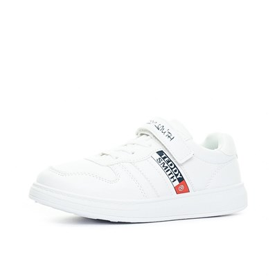 Chaussures Homme   Teddy Smith BASKETS BASSES BLANC