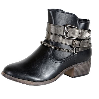 Enza Nucci BOTTINES NOIR Chaussure France_v2970