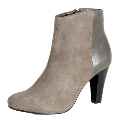 Enza Nucci BOTTINES GRIS Chaussure France_v2329