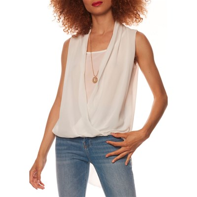Anabelle Paris TOP BIANCO