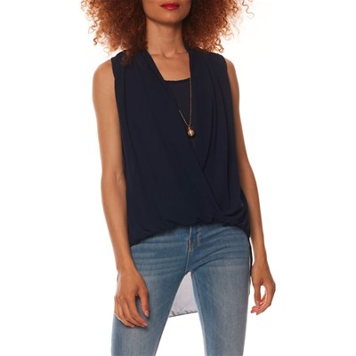 Anabelle Paris TOP BLU MARINE