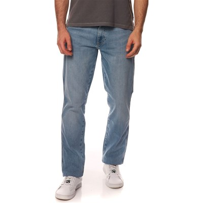 Wrangler POWDER BLUE JEANS DRITTO BLU JEANS
