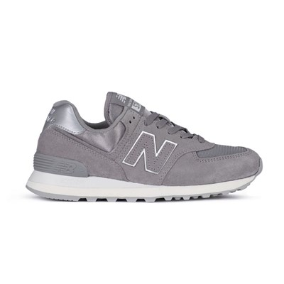 New Balance WL574MMS BASKETS BASSES GRIS Chaussure France_v14439